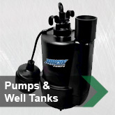 Pumps & Well Tanks