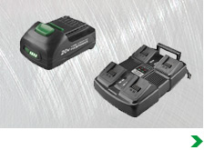 Power Tool Batteries, Chargers & Cords