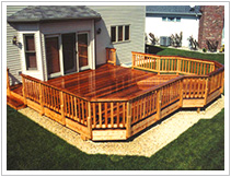 One Level Deck Projects