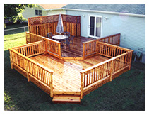 Two Level Deck Projects
