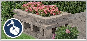 No-Cut Block Landscaping Projects