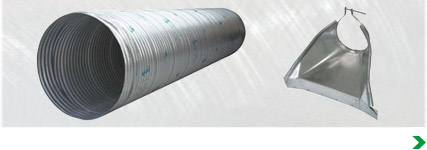 Corrugated Metal Culvert, Fittings & Accessories