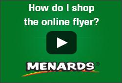 How do I shop the online flyer?