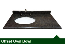 Offset Oval Bowl