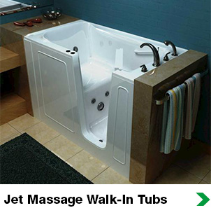 Jet Massage Walk-in Tubs