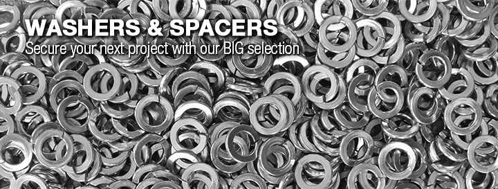 Washers & Spacers Feature