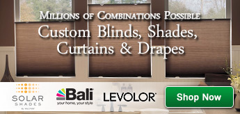 Custom Blinds, Shades and Drapes. Millions of combinations possible. Shop now.