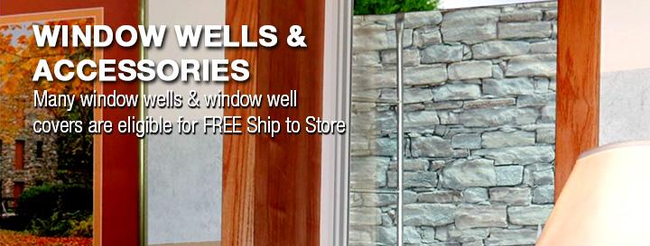 Window Wells & Window Well Covers