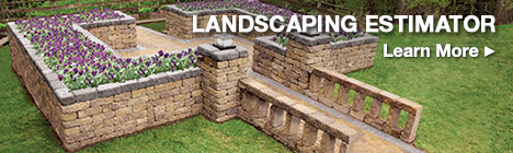 Landscaping Estimator. Click here to learn more.