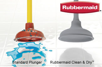 Rubbermaid Clean & Dry™ Plunger