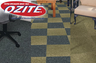 Ribbed Carpet Tiles