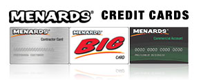 Menards Credit Cards