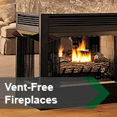 Vent-Free Fireplaces