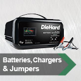 Batteries, Chargers &amp; Jumpers