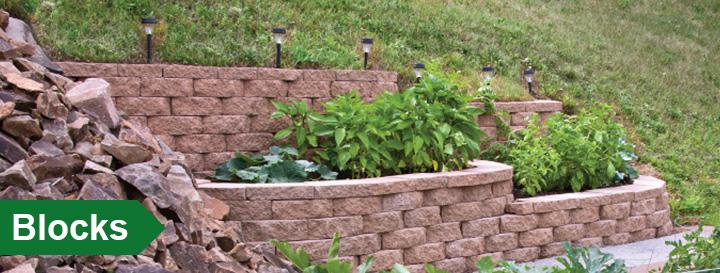 Retaining Wall Blocks From Menards : Block at menards