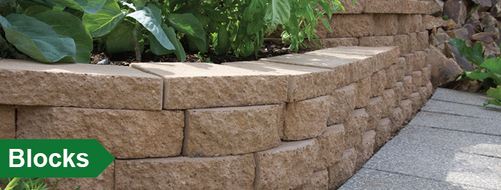 Landscaping Retaining Wall Blocks Menards : Gift registry welcome sign in