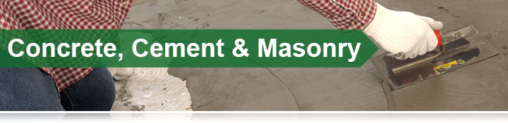 Concrete, Cement &amp; Masonry Banner