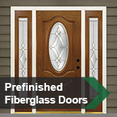 Prefinished Fiberglass Doors