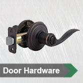 Interior &amp; Exterior Hardware
