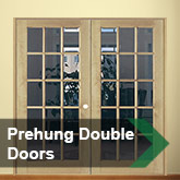 Prehung Double Doors