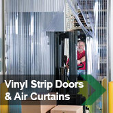 Vinyl Strip Doors &amp; Air Curtains