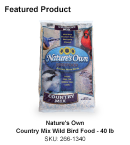 Nature's Own Country Mix Wild Bird Food - 40 lb