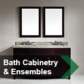 Bath Cabinetry &amp; Ensembles