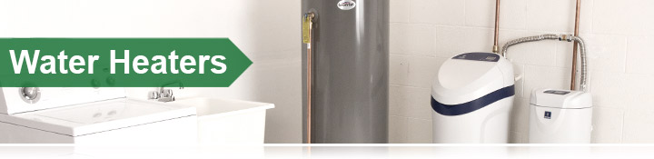 Water Heaters Banner