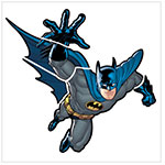 RoomMates Batman - Gotham Guardian Peel & Stick Giant Wall Decals