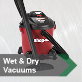 Wet & Dry Vacuums