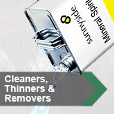 Cleaners, Thinners & Removers