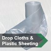 Drop Cloths & Plastic Sheeting