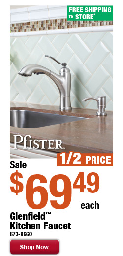 Glenfield™ Kitchen Faucet