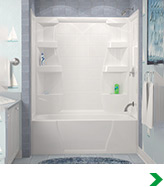 Menards bathtubs and showers menards bathtubs and showers for Lyons whirlpool tub