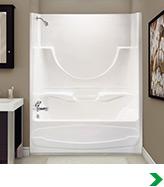 Bathtubs & Showers at Menards
