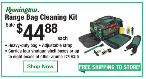Range Bag Cleaning Kit