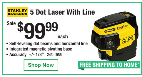 5 Dot Laser With Line