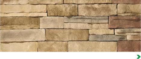 Stone brick siding buying guide at menards for Mortarless stone siding
