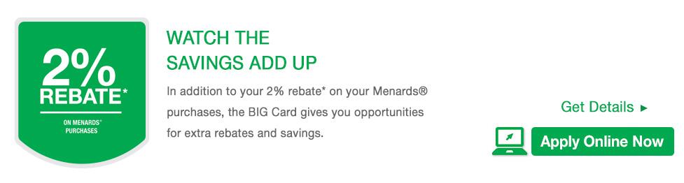 Menards shop online