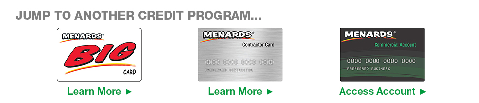 Commercial Card At Menards 174