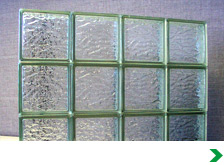 Glass blocks glass block panels at menards for Acrylic glass block windows