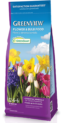GreenView with GreenSmart Flower & Bulb Food 12-6-6