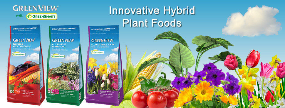 GreenView with GreenSmart Innovative Hybrid Plant Foods
