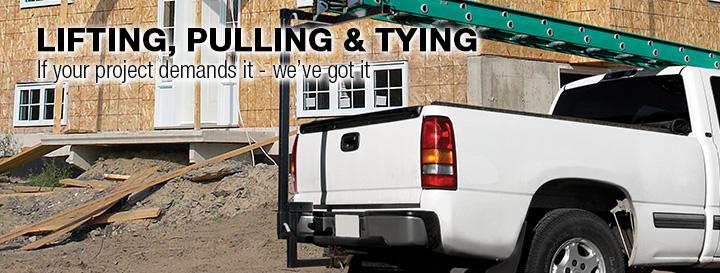 Pulleys Menards : Lifting pulling tying at menards?