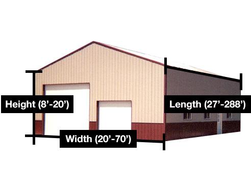 Pole barn truss spacing joy studio design gallery best for Pole barn design program