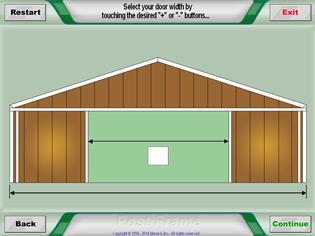 Pole Barn Post Frame Estimator At Menards