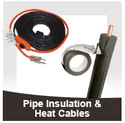 Pipe Insulation & Heat Cables