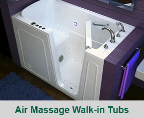 Air Message Walk-In Tubs