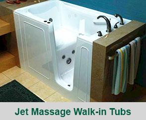 Jet Massage Walk-in Tubs