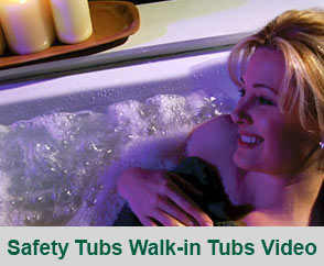 Safety Tubs Walk-in Tubs Video